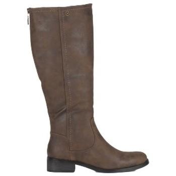 Chaussures Femme Bottes ville Chattawak Botte 8-Melina Choco Marron