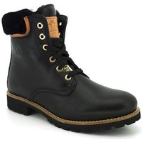 Chaussures Femme Boots Panama Jack PANAMA03 IGLOO TRAVELLING Noir