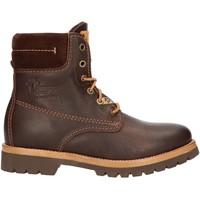 Chaussures Femme Boots Panama Jack PANAMA 03 IGLOO B46 Marr?n