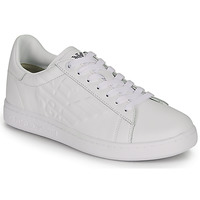Chaussures Baskets basses Emporio Armani EA7 CLASSIC NEW CC Blanc