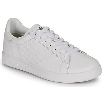 Chaussures Homme Baskets basses Emporio Armani EA7 CLASSIC NEW CC Blanc