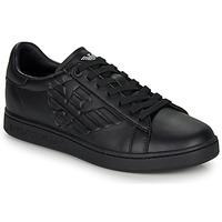 Chaussures Homme Baskets basses Emporio Armani EA7 CLASSIC NEW CC Noir