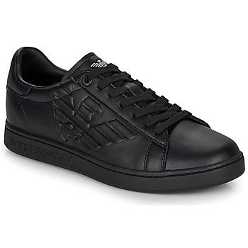Chaussures Baskets basses Emporio Armani EA7 CLASSIC NEW CC Noir