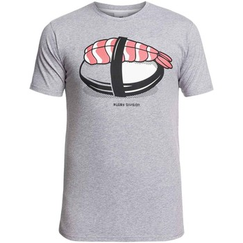 Vêtements Homme T-shirts & Polos Rugby Division Tee-shirt rugby Sushi- Rugby D Gris