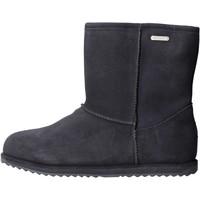 Chaussures Fille Bottes de neige EMU - Stivale blu camoscio K10773 BLU