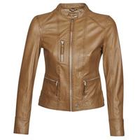 Vêtements Femme Vestes en cuir / synthétiques Oakwood EACH Cognac