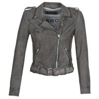 Vêtements Femme Vestes en cuir / synthétiques Oakwood PLEASE Gris