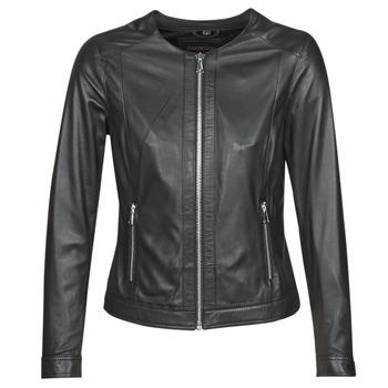 Vêtements Femme Vestes en cuir / synthétiques Oakwood MICHELLE Noir