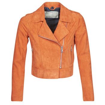 Vêtements Femme Vestes en cuir / synthétiques Oakwood ZULINA Rouille