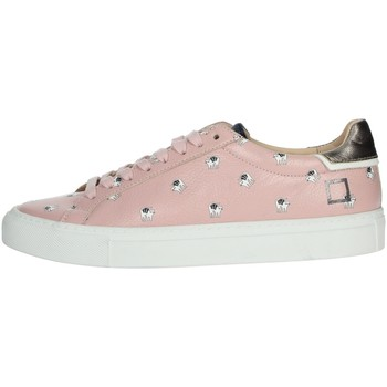Chaussures Femme Baskets basses Date I19-28 Rose