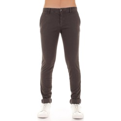 Vêtements Homme Chinos / Carrots Mason's MILANO-MBE063 Gris