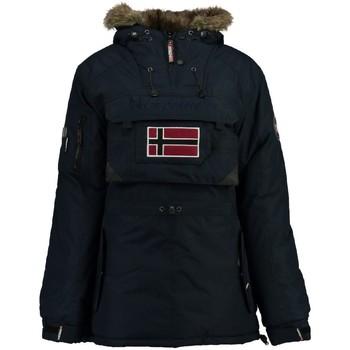 Vêtements Femme Parkas Geographical Norway Parka Femme Bulle New Bleu