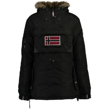 Vêtements Femme Parkas Geographical Norway Parka Femme Bulle New Noir