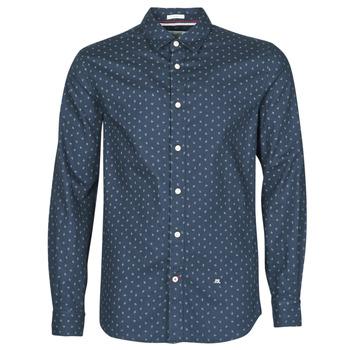 Vêtements Homme Chemises manches longues Pepe jeans ADAN Marine