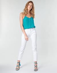 Vêtements Femme Jeans droit Pepe jeans MARY Blanc
