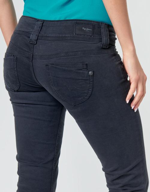 Grosses Soldes Vetements djfs54dDL3L5 Pepe jeans VENUS CROP Noir