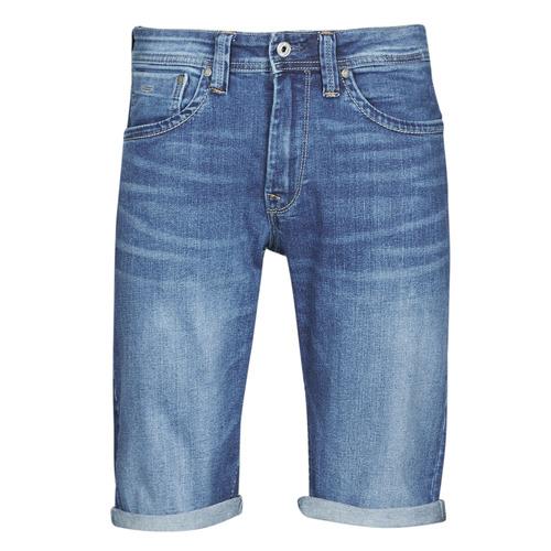Vêtements Homme Shorts / Bermudas Pepe jeans CASH Bleu Medium