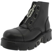 Chaussures Fille Bottines New Rock CRUST REACTOR NERI Noir