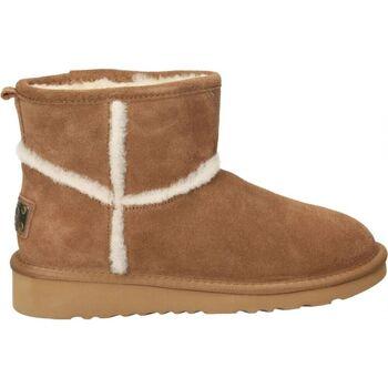 Chaussures Femme Bottes de neige Top3 9786 Marron