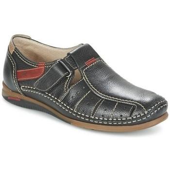 Chaussures Homme Sandales et Nu-pieds Fluchos sandale catamaran 8568 Noir