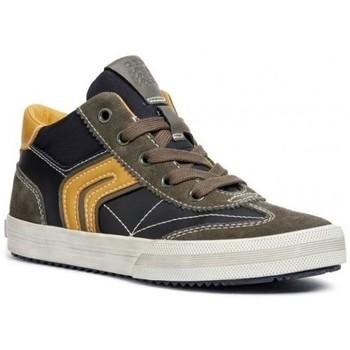 Chaussures Garçon Baskets mode Geox Basket J Alonisso B C vert