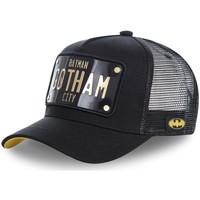 Accessoires textile Homme Casquettes Capslab Casquette DC Comics Batman Gotham Noir Noir