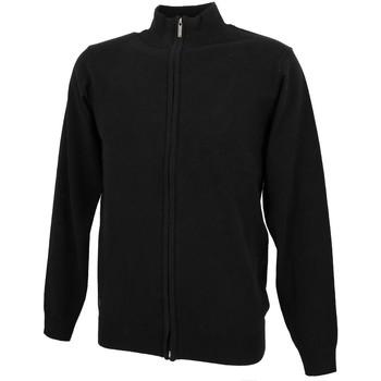 Vêtements Homme Gilets / Cardigans Rms 26 Basic noir fz gilet Noir