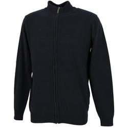 Vêtements Homme Gilets / Cardigans Rms 26 Basic navy fz gilet Bleu marine / bleu nuit