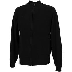 Vêtements Homme Gilets / Cardigans Rms 26 Tom noir fz gilet Noir