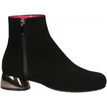 Chaussures Femme Low boots Le Babe CAMOSCIO nero
