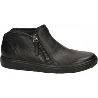 Chaussures Femme Low boots Ecco Soft 7 W Black Lyra black-nero