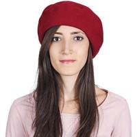 Accessoires textile Femme Bonnets Sacaly Béret Yva Rouge