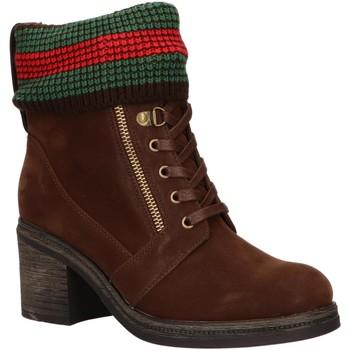 Chaussures Femme Bottines Chika 10 IZAL 05 Marr?n