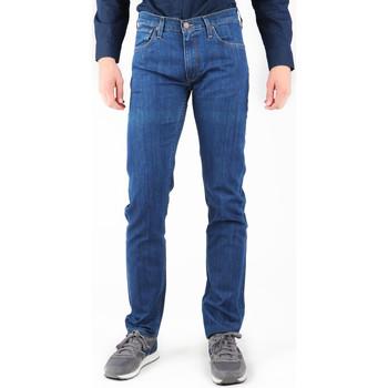 Vêtements Homme Jeans droit Lee Daren L707AA46 granatowy