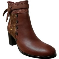 Chaussures Femme Bottines Laura Vita Gicbuso 01 Marron cuir