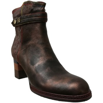 Chaussures Femme Bottines Laura Vita Gucepeo 02 Marron cuir