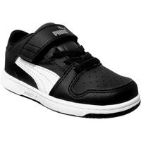 Chaussures Garçon Baskets basses Puma Pm rebound layup lo sl v Noir