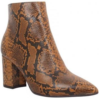 Chaussures Femme Bottines Impicci P90 reptile Femme Cognac Marron