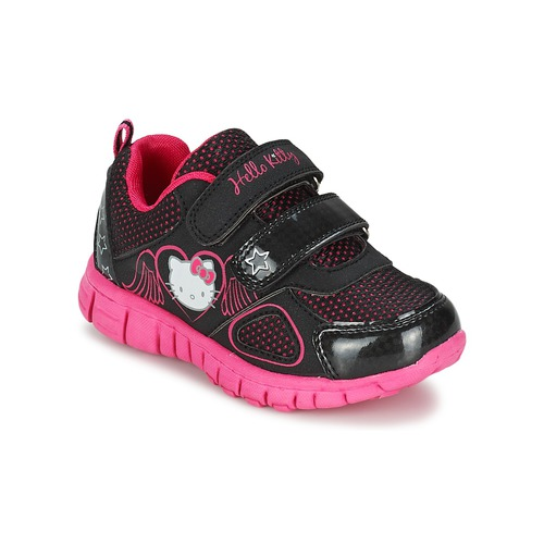Chaussures Fille Baskets basses Hello Kitty BASEMO PHYL Noir