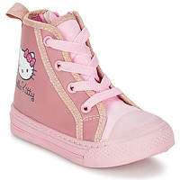 Chaussures Fille Baskets montantes Hello Kitty TANSIOUR Rose