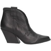 Chaussures Femme Bottines Marlena 7007 VITELLO Noir