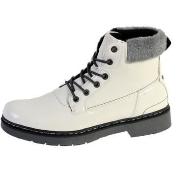 Chaussures Femme Bottines The Divine Factory Boots CI3861 Blanc
