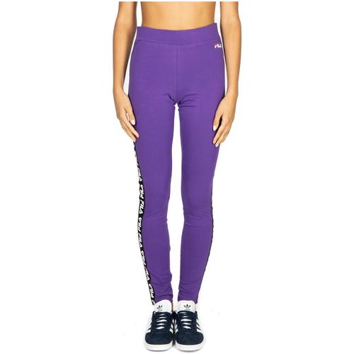 Vêtements Femme Pantalons de survêtement Fila WOMEN PHILINE leggings a033-tillandsia-purple