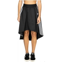 Vêtements Femme Jupes adidas Originals SATIN SKIRT black-nero