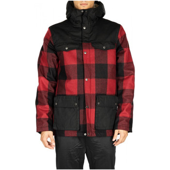 Vêtements Homme Blousons Fjallraven GREENLAND RE-WOOL JACKET M 320-550-red-black