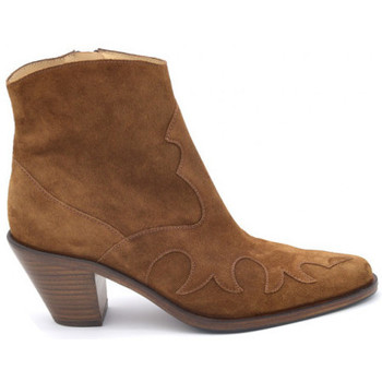 Chaussures Femme Boots Freelance jane7 west zip boot Marron