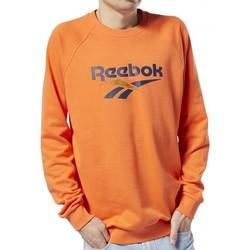 Vêtements Sweats Reebok Sport SWEAT  CLASSIC UNISEX / ORANGE Orange