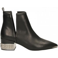 Chaussures Femme Bottines Jeffrey Campbell TUSK SH LEATHER black-nero