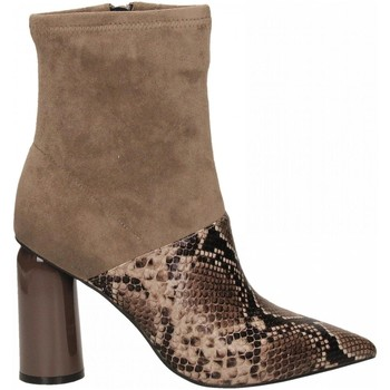 Chaussures Femme Bottines Jeffrey Campbell LUSTFUL 2 SNAKE brown-taupe-marrone