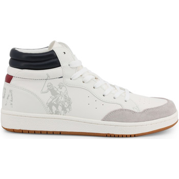 Chaussures Homme Baskets montantes U.S Polo Assn. ALWYN4116W9 YS1 WHI Multicolor